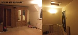 Wenvoe bedroom and loft conversion - before
